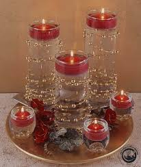 decorations daily u0027dilla dazzling candle centerpiece ideas