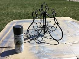 Gazebo Solar Chandelier From Candle To Solar Chandelier Hometalk