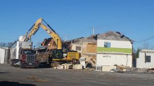 yarmouth police welcome demolition of former troubled property