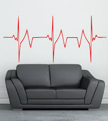 169 Best Wall Decals Images by Rapid Heartbeat Vinyl Wall Decal Stickers Multiple Colors