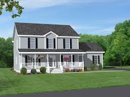 small ranch house plans with front porch style and back home