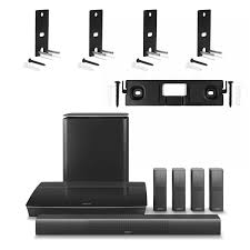 bose lifestyle home theater system bose lifestyle 650 system with 4 omnijewel ceiling brackets u0026 1
