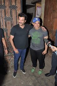 anil kapoor and aamir khan snapped outside the former u0027s home
