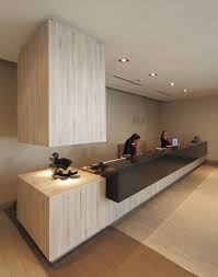 Modern Office Reception Desk Modern Office Lobby Lacasse Contemporary Office Reception Table