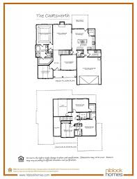 different floor plans chatsworth floor plan 1st floor master bed niblock homes
