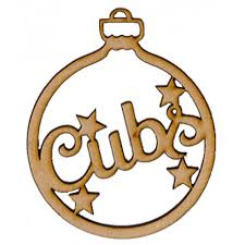 your own cubs bauble
