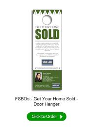 real estate door hangers