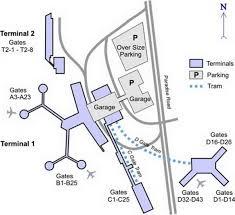 Miami Airport Terminal Map by Las Vegas Airport Terminal Map Mccarran Airport Terminal Map