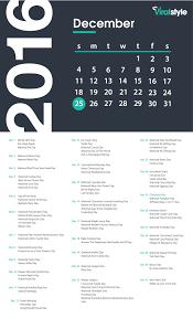 viralstyle academy december 2016 calendar