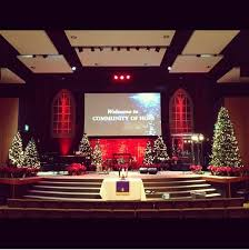Decoration For Christmas At Church by 62 Best Decorating Church For Christmas Images On Pinterest
