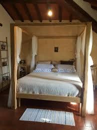 letto matrimoniale a baldacchino legno letto matrimoniale baldacchino in legno di castagno made in italy