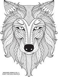 62 loups images coloring books drawings