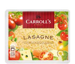 cuisine lasagne carroll s lasagne carrolls cuisine