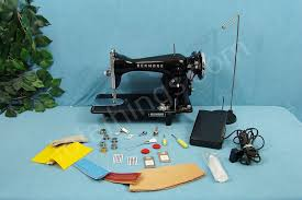 Cowhide Upholstery Industrial Strength Sewing Machine Sews 18 Ounce Of Cowhide