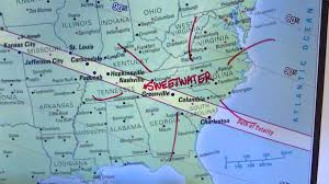 Map Of Alabama And Tennessee by Countdown To Total Solar Eclipse Begins In Sweetwater Wate 6 On