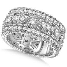 vintage bands rings images Wedding ring and bands antique style diamond wedding bands jpg