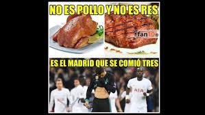 Tottenham Memes - real madrid cay祿 ante tottenham por la chions y protagoniz祿