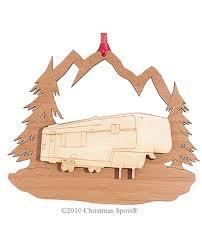 personalized rv 5th wheel cer travel trailer ornaments
