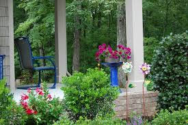 Front Porch Landscaping Ideas Front Porch Ideas Porch Craftsman With Cottage Black Front Door