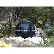 Fontaine D Exterieur by Kit Fontaine Ubbink Dubai Noir H 36 Cm Leroy Merlin