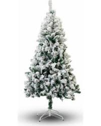 savings on flocked snow green branches 7