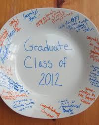 graduation keepsakes graduation keepsake plate activity education
