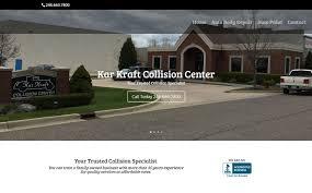 Home Design Center Michigan by Kar Kraft Collision Center Wixom Mi Web Design In Michigan