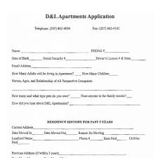 sample application and lease for apartment rentals bangor maine