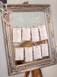 modern table numbers chic mirror table plans at wasing park wedding and events venue