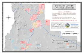 Map Of Redmond Oregon by Livestock District Maps Deschutes County Oregon