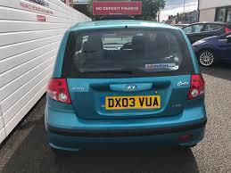 used blue hyundai getz for sale rac cars