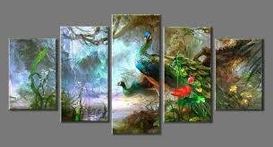 Landscape Canvas Prints by Online Get Cheap Peacock Canvas Prints Aliexpress Com Alibaba Group