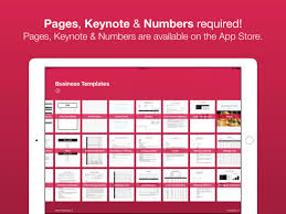 business templates for pages and numbers business templates for pages on the app store