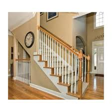 Installing Balusters And Handrails 5015 Primed Baluster 1 1 4 In Pin Top