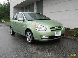 hyundai accent green 2007 apple green hyundai accent se coupe 14648247 gtcarlot com