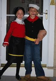 olive oyl costume popeye and olive oyl costumes thriftyfun