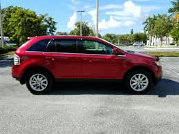used lexus suv sarasota pre owned 2010 ford edge limited station wagon in sarasota
