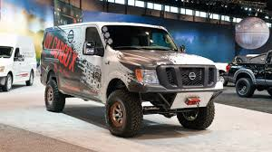 nissan commercial van nissan nv cargo x is off roader and support vehicle all in one