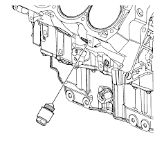 repair instructions off vehicle engine block plug installation