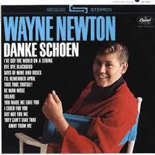 wayne newton danke schoen vinyl lp album at discogs