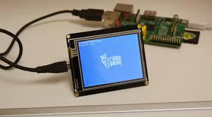 Lcd Usb 2 8 Usb Tft Touch Lcd Display For Raspberry Pi Robotshop