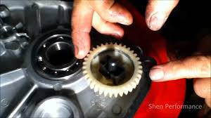 how to remove the governor from a g270 go kart engine 9hp lawn