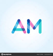 imagenes que empiecen con la letra am conectada am logo de letras vector de stock brainbistro 143736687