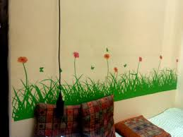 design online your room decorate your room with wall decals home decorating designs grass