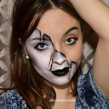 melted makeup look for halloween popsugar beauty