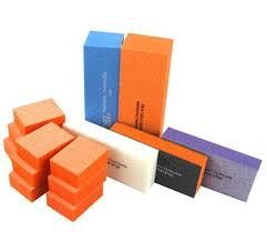 professional nail buffer kit nail block emery board nail file