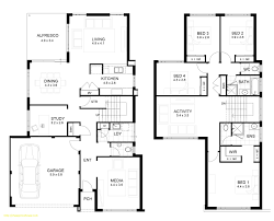 modern floor plans for homes two storey modern house design with floor plan with elevation newest