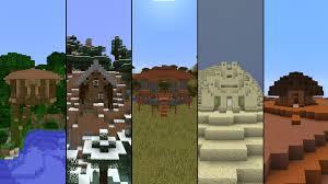 5 starter houses in minecraft youtube