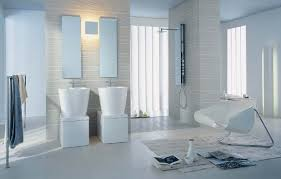 mirror ideas for bathroom chic modern bathroom design with white spoon bath tub also modular