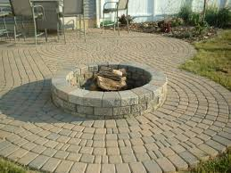 Patio Fire Pit Designs Ideas Outstanding Cinder Block Fire Pit Design Ideas For Outdoor